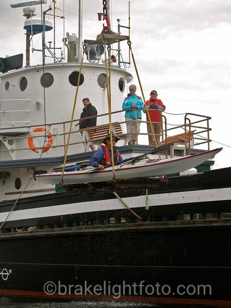 Hoisted Aboard the Uchuck III