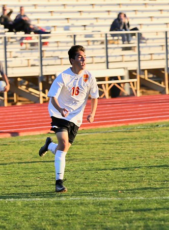 JV vs Desert Ridge Boys Soccer