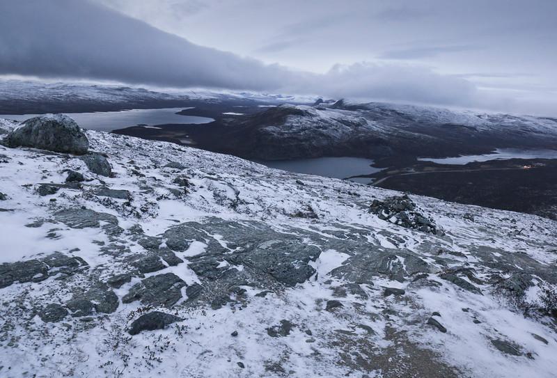 View from Kilpisjärvi