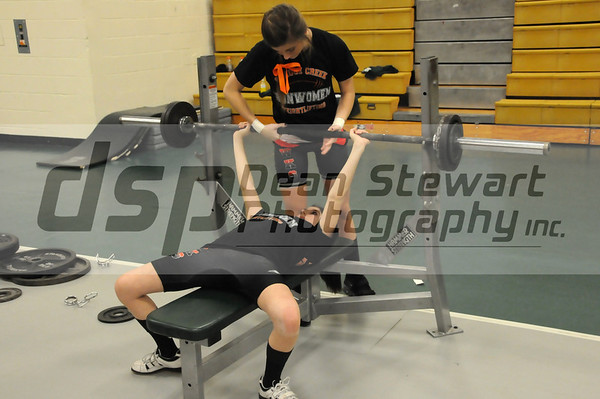 Spruce Creek Girls Weightlifting Champs 1-12-12