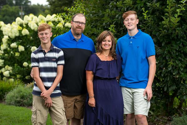 Wallendorf Family in Pell Gardens