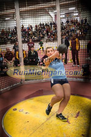 Women's Weight Throw - 2014 CMU Jack Skoog Open