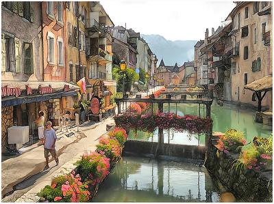 Auvergne Rhône-Alpes Fantasy