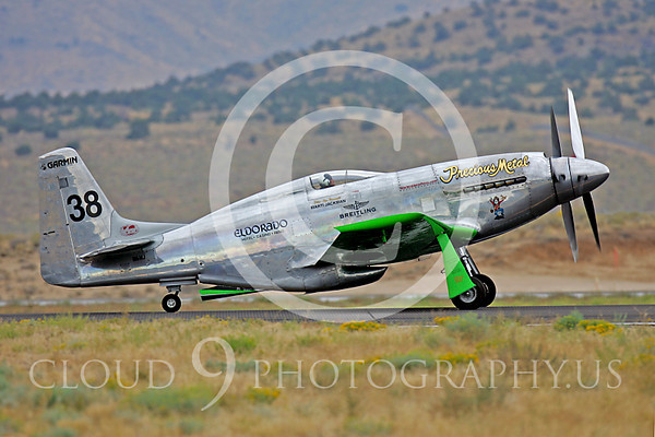 North American P-51 Mustang Precious Metal N6WJ Racing Plane Pictures