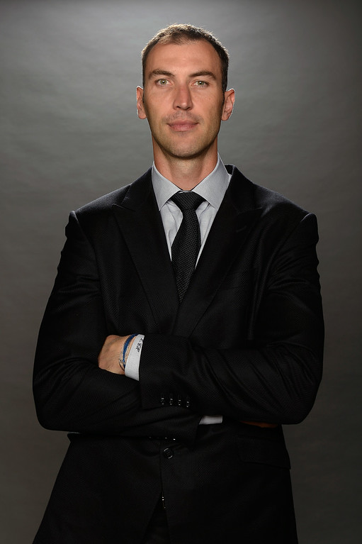 . Zdeno Chara of the Boston Bruins poses for a portrait during the 2014 NHL Awards at Encore Las Vegas on June 24, 2014 in Las Vegas, Nevada.  (Photo by Harry How/Getty Images)