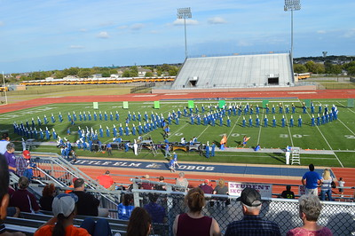 Region 24 UIL Marching Festival 10/21/2017