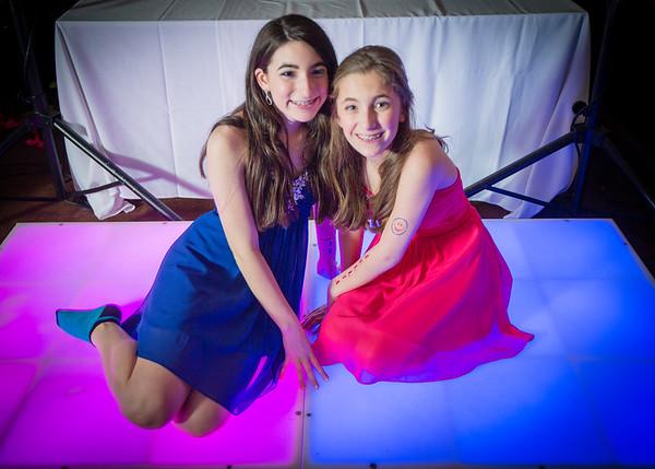 Allie and Julia Bat Mitzvah