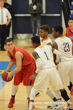 02-07-2014 Gaithersburg HS vs Wootton HS Boys Varsity Basketball, Photos by Jeffrey Vogt Photography