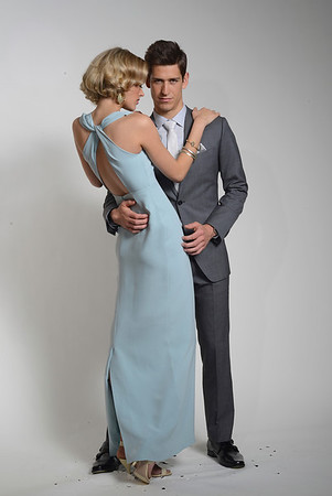 blue dress Kennedy