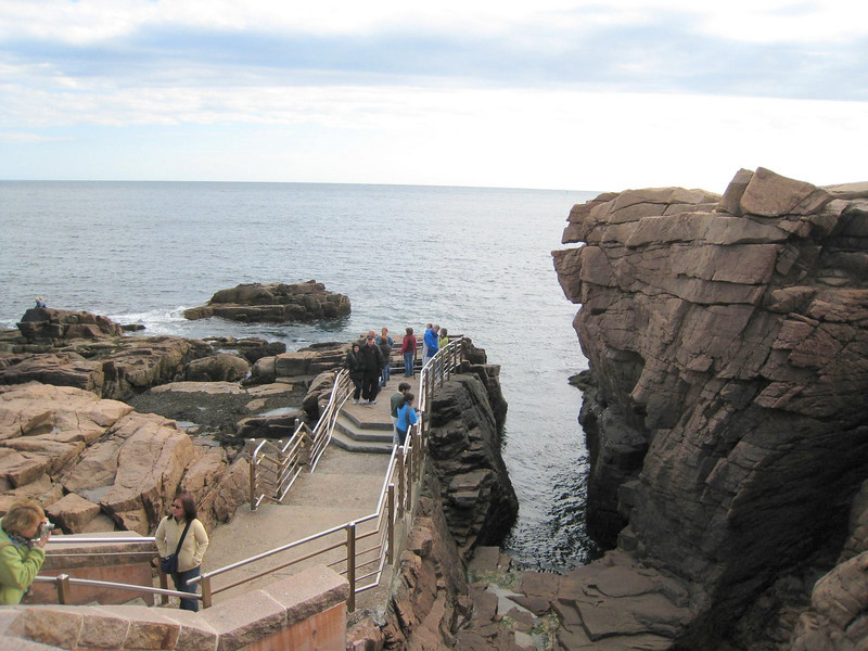 Thunder Hole - Acadia National Park (but there was no thunder today!)