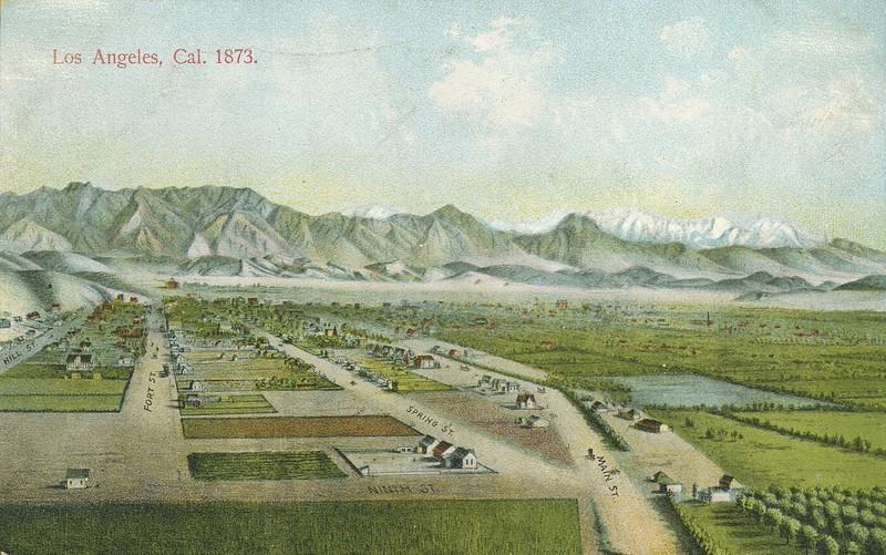 Los Angeles, California, 1873