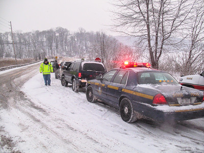 1-18-09 MVA With Injuries, Bear Mountain Bridge Road