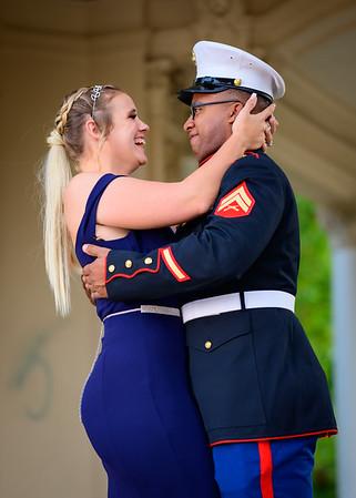 Caylee, James, Friends Marine Corp Ball 11-15-2019