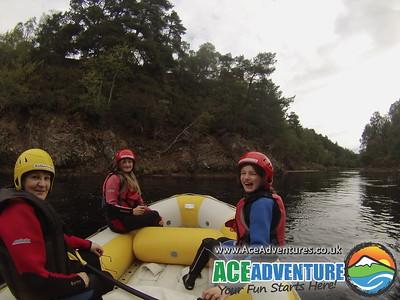 6th September Family White Water Rafting