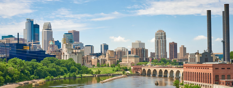 Minneapolis and the Mississippi