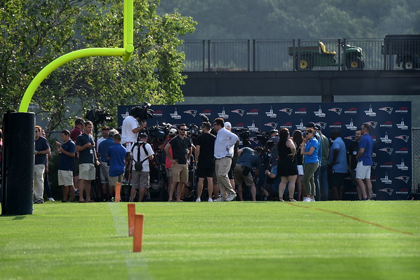 Patriots training camp 2018