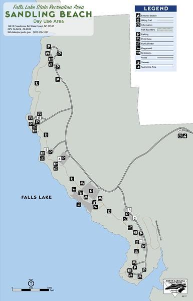 Falls Lake State Recreation Area (Sandling Beach Day Use Area)