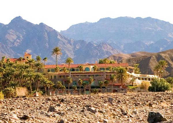 Furnace Creek Resort Lodge, Death Valley.