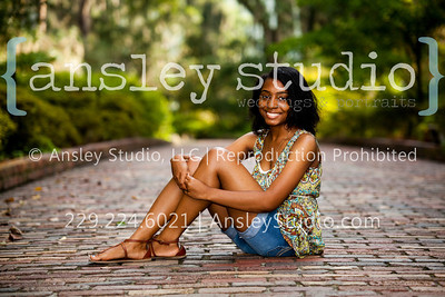 Shamara: Senior Session at Maclay Gardens in Tallahassee