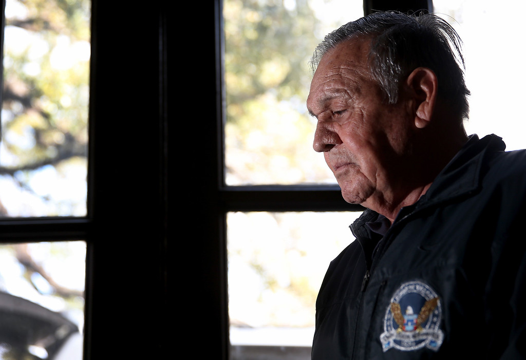 . U.S. Army Sergeant First Class Jose Rodela will receive the Medal of Honor on March 18th for his actions while serving in the Vietnam War on March 11, 2014 in San Antonio, Texas.  (Photo by Joe Raedle/Getty Images)