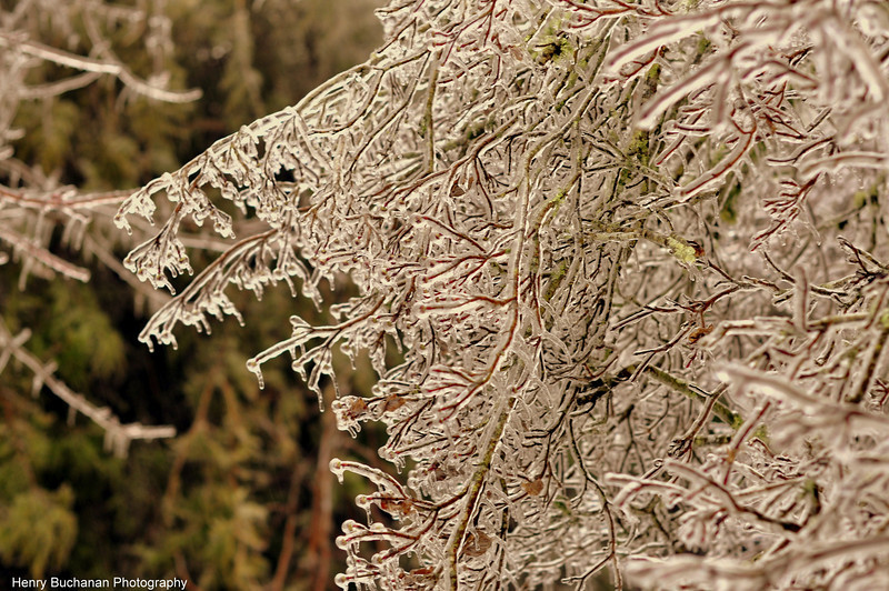 Blowing Rock NC - Ice Storm