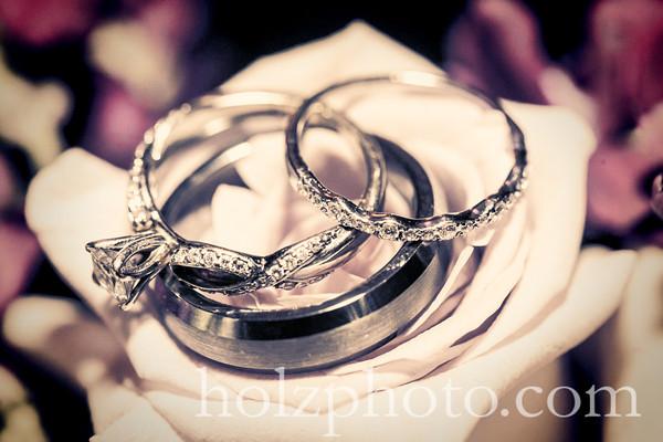 Lisa & Grant Creative Wedding Photos