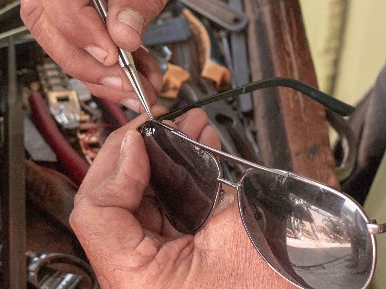 Sunglass Repair in Burma