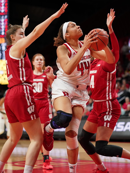 NCAAW Basketball 2020 - Rutgers Defeats Wisconsin 63-43