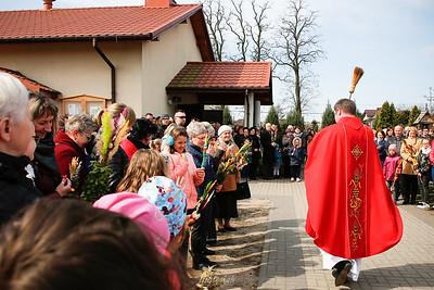 2019-04-14 - Mszczonów - Niedziela Palmowa w Parafii Św. Ojca Pio