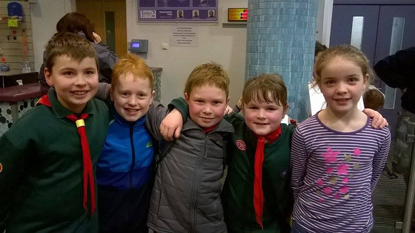 2016-01-30 Cubs District Swimming Gala