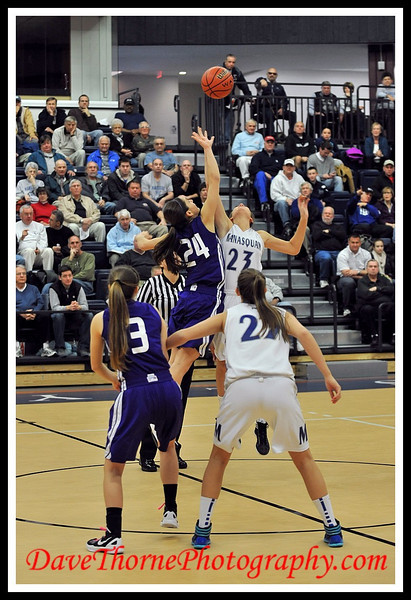 Basketball - SCT Tournament Girls  Manasquan vs RFH  Feb 2012