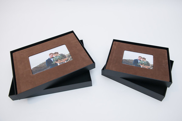 Leather Lay-Flat Wedding Album