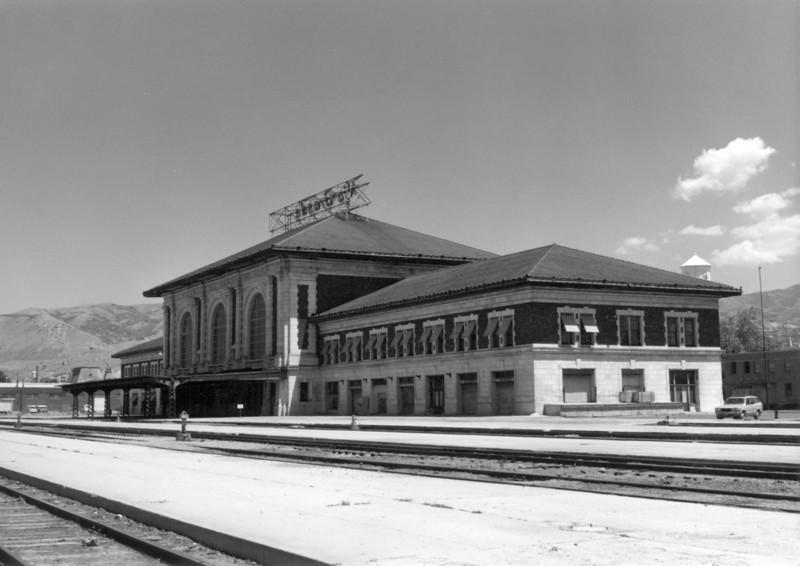D&RGW Salt Lake City depot, 1979. (Norm Metcalf Photo)