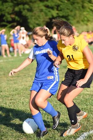 Girls Junior Varsity Soccer A –2015