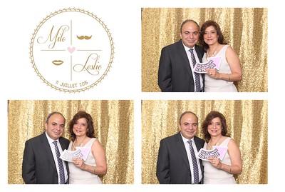 Leslie + Milo   Photobooth  