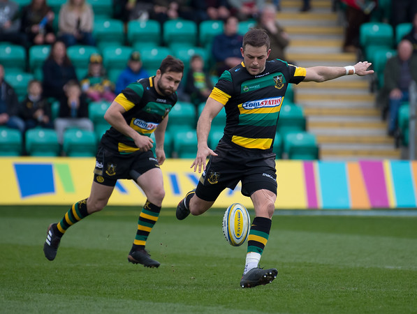 Northampton Saints vs Saracens, Aviva Premiership, Franklin's Gardens, 7 April 2018