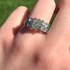 2.10ct Art Deco Peruzzi Cut Diamond Ring, GIA W-X SI2 32