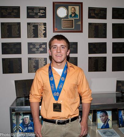 Zain Retherford, Dave Schultz High School Excellence Award Winner