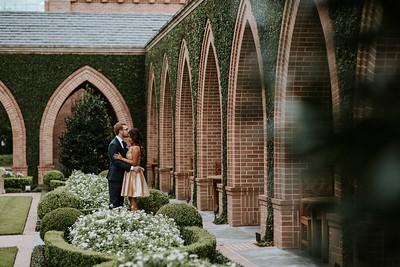 Taylor + Mireya's Garden Engagement