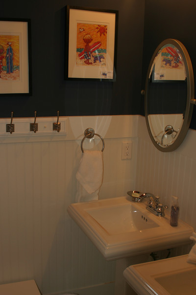 bunk room bath- tub shower combo