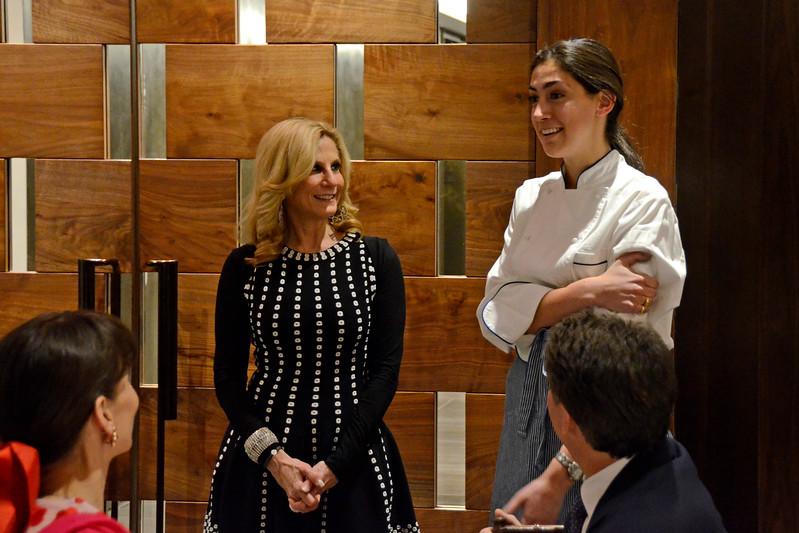Randi Schatz, Stephanie Nass AVENUE MAGAZINE Presents the SALON DINNER & CONVERSATION about PUBLIC ART Featuring YVONNE FORCE VILLAREAL 10 Hudson Yards NYC, USA - 2017.04.06 Credit: Lukas Greyson