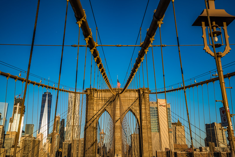 Brooklyn Bridge at Sunrise 2