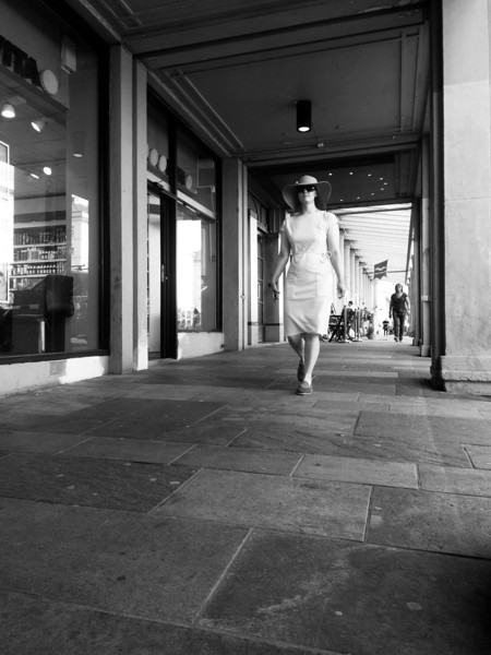 Tonia i Bergens gater