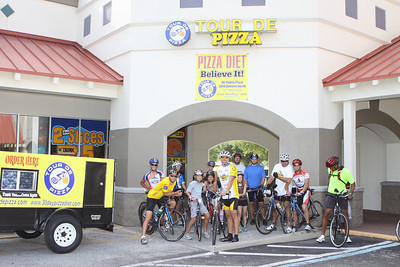 Day 1 June 5, 2010... Tour De Pizza St. Pete to Paci's Pizza Tampa, Fl.