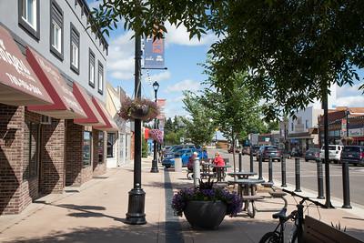 Main Street Shopping District