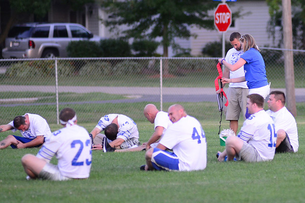 Durand Alumni Football Game 8/23/13
