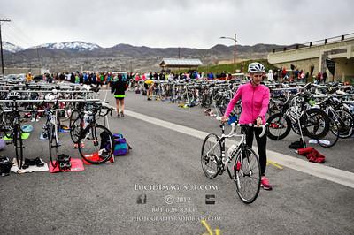 Unidentified Cyclists