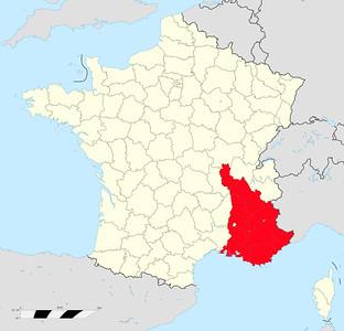 REGION PROVENCE - CÔTE D'AZUR