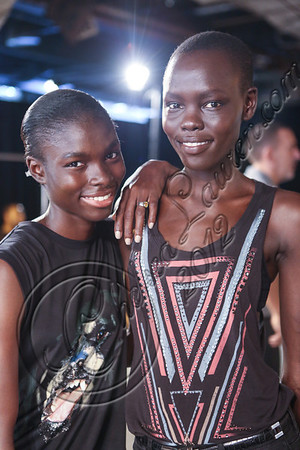 Edun - Backstage and Front Row