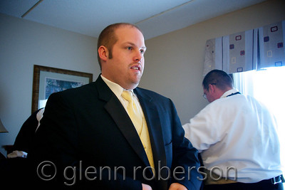 Groom at hotel